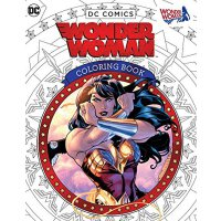 DC Comics: Wonder Woman Coloring BookDC【英文原版】漫画:神奇女侠着色书