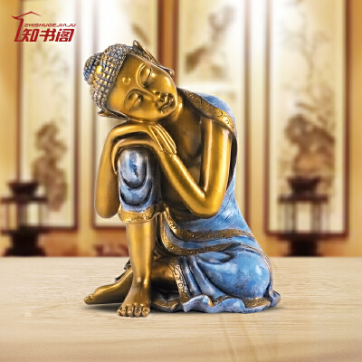 中式摆件释迦摩尼佛像供奉家居饰品禅意办公室