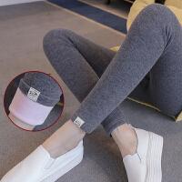 长裤春秋棉裤 孕妇裤子冬装新款2018韩版加绒孕妇打底裤托腹裤