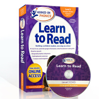 英文原版自然拼读Hooked on Phonics Learn to Read Kindergarten- Level