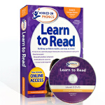 英文原版自然拼读Hooked on Phonics Learn to Read Kindergarten- Level