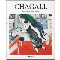 英文原版Chagall 夏加尔画册 法国超现实主义画家 TASCHEN出版 艺术绘画作品集