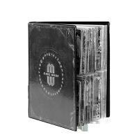 游戏卡片收集册 奥特曼卡片游戏收集册卡牌收藏册铠甲勇士相册机甲三国百兽卡包 15种封面 颜色可备注(不含牌)可装160
