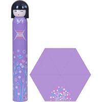 创意卡通日本女孩娃娃雨伞酒瓶伞铅笔伞折叠三折学生遮阳晴雨伞便携迷你铅笔伞水果伞卡通雨伞个性伞