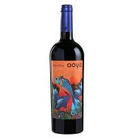 傲鱼智利原装原瓶进口红酒 海洋之王夏西拉干红葡萄酒750ml*1