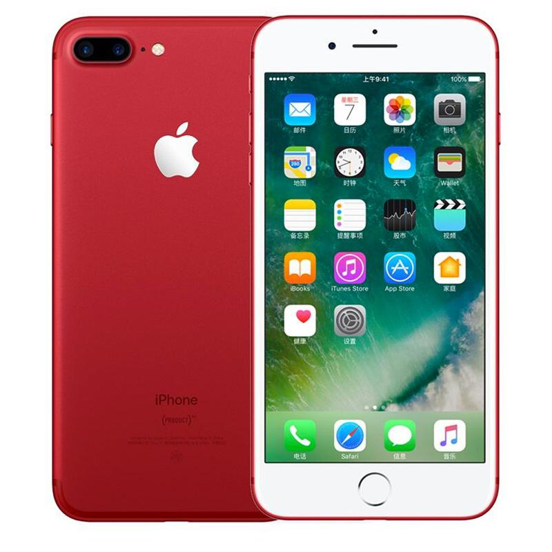 Apple iPhone 7 Plus 128G 红色特别版手机 支持移动联通电信4G可使用礼品卡支付 国行正品 全国联保