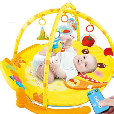 婴儿健身架脚踏钢琴新生儿音乐宝宝玩具3-6-12个月
