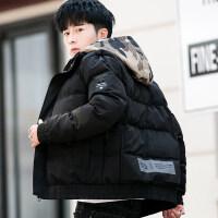 冬季2018新款外套男士韩版潮流加厚修身棉衣短款羽绒冬装棉袄