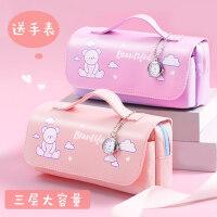 �n��可�坨�表�P袋多功能�U�P盒女生文具盒大容量�和�小�W生高�值ins潮日系�W�t款�U�P袋2021新款少女心��s