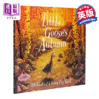 【中商原版】Briony May Smith:Little Goose's Autumn 小鹅的秋天 低幼亲子故事绘本