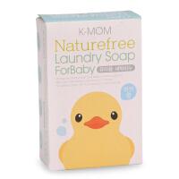 韩国K-MOM宝宝天然温和洗衣皂 婴幼儿洗衣肥皂杀菌 松木香型170g