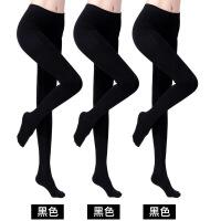 2018新款 3双丝袜天鹅绒连裤袜防勾丝春秋季中厚款肉色打底裤袜女 均码