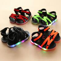 6女宝5男宝凉鞋1-3岁2夏季韩版防滑软底公主男童女童儿童鞋子夏天