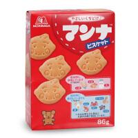 日本森永蒙奈 含铁高钙动物饼干 儿童零食婴幼儿宝宝饼干磨牙点心