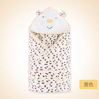 婴儿抱被新生儿包被抱毯可脱胆襁褓巾春秋宝宝用品