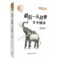 沈石溪和他喜欢的动物小说:最后一头战象.义犬情深