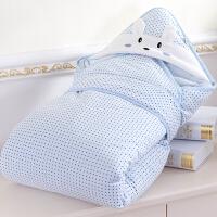 新生儿抱被春夏季包 可脱胆两用婴儿抱毯报被裹布用品