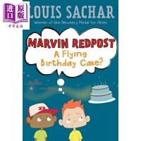 【中商原版】麻烦精马文:6 Marvin Redpost 6:Flying Birthday Cake, A 儿童文学故