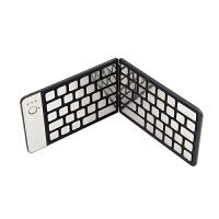 爱酷多ikodoo苹果/微软/安卓平板通用防水按键金属折叠蓝牙键盘