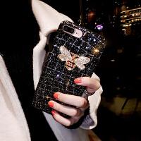 苹果7plus手机壳全包女款iphoneX硅胶创意闪粉6s欧美8P大气防摔