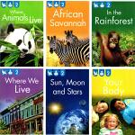 【L2】Kingfisher readers 翠鸟分级读物系列 儿童分级读物 6册合售 儿童STEM课外科普教辅读物绘