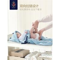 婴儿包被秋冬襁褓被子抱被初生多功能出行防踢被睡袋