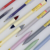 Narita成田良品110 按动水笔 无印风学生中性笔三角杆正姿笔 顺滑水笔0.5mm