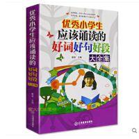 优秀小学生应该诵读的好词好句好段大全集 少儿语文写作 小学生作文书3-5-6年级教辅名校素材儿童读物学生用书 分类作文