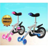 滑板车摆摆乐儿童独轮车无把自行车男孩女孩初学者童车摇车5-15岁