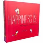 Happiness Is . . . 500 Ways 幸福是…表达我爱你的500种方式 英文原版童书 治愈系全年龄段