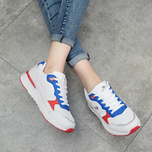 卡帝乐鳄鱼春季新款运动鞋休闲鞋透气鞋子韩版百搭日系潮流运动鞋学生鞋女