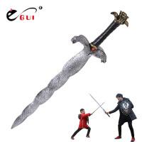 儿童仿真玩具剑模型兵器 玩具刀剑 影视表演武器道具