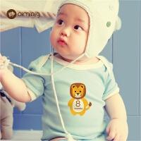 宝宝月份贴纸婴儿月龄拍照摄影道具新生儿礼物记录纪念品