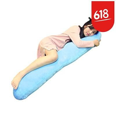 大号男朋友睡觉长抱枕海马毛绒玩具公仔靠枕枕头礼物女孩娃娃