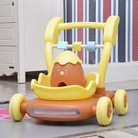 宝宝学步车可坐手推车婴儿学步车男宝宝可坐防侧翻幼儿童手推车小孩多功能学行