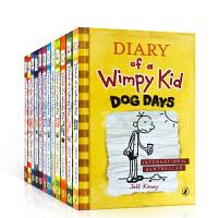 英文原版绘本小说小屁孩日记 Diary of a Wimpy Kid 1-12全套本课外读物励章节书正版幽默儿童漫画7