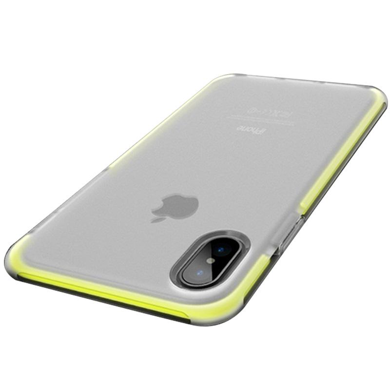 苹果X手机壳iPhoneX硅胶套10全包8X女磨砂男