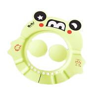 宝宝幼儿水帽婴儿洗头帽小孩儿童浴帽护耳帽洗澡硅胶洗发帽神器O 可调节