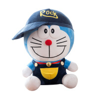 叮当猫公仔布娃娃抱枕哆啦a梦机器猫毛绒玩具蓝胖子一件 叮当猫