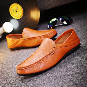 【包邮】2017春季新款韩版男士豆豆鞋套脚透气鞋男鞋子休闲鞋驾车鞋6630JQSL
