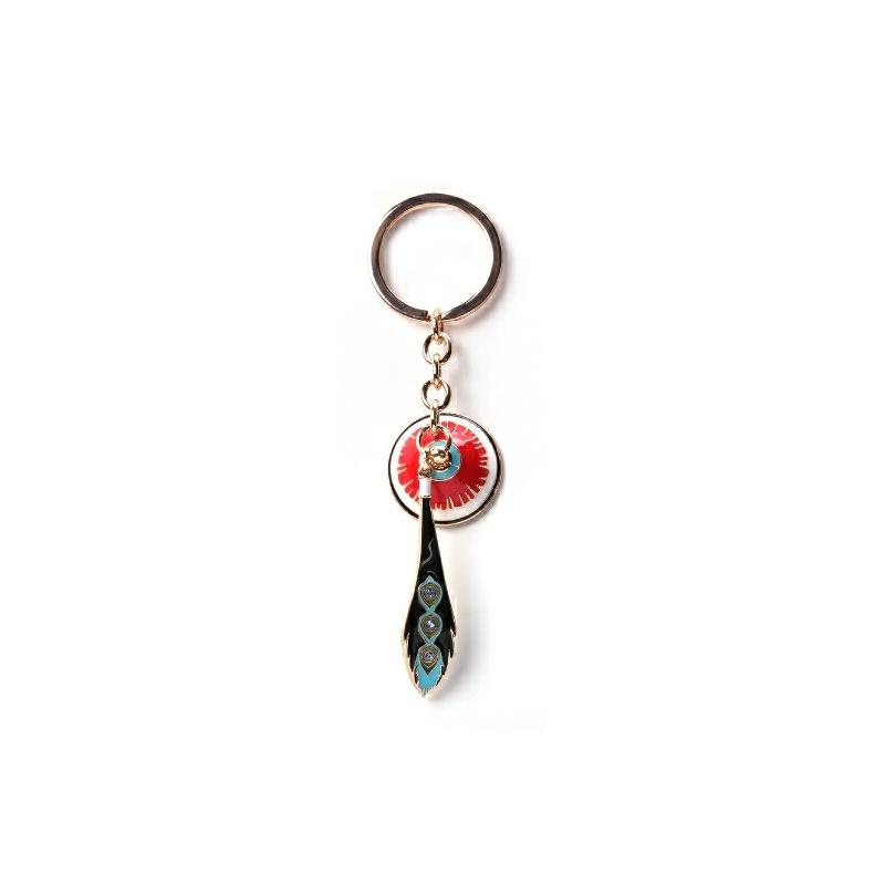 步步高升的顶戴花翎钥匙扣/钥匙链 故宫纪念品