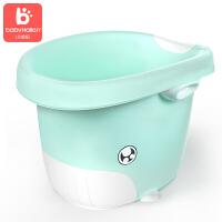 泡澡沐浴不折叠大号宝宝浴桶 儿童洗澡桶婴儿浴盆可坐躺小孩