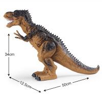 恐龙玩具喷雾霸王龙 电动遥控仿真动物模型儿童玩具