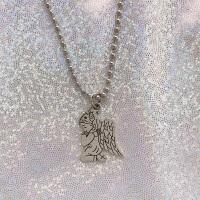 爱神射箭天使丘比特爱心吊坠锁骨链原宿欧美风朋克酷酷的少女项链