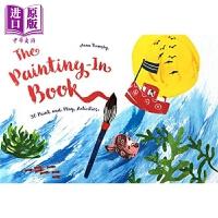 【中商原版】书中作画 The Painting-In Book 亲子绘本 美的启蒙 绘画学习 创造力 4~7岁 英文原版