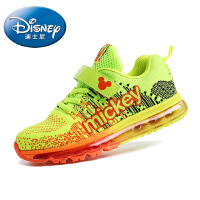 迪士尼儿童鞋新款小王子男童鞋女童运动鞋绘本女大童鞋全掌型气垫飞线运动鞋