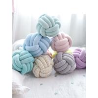网红公仔创意毛绒玩具麻花打结抱枕网红同款枕头沙发靠枕