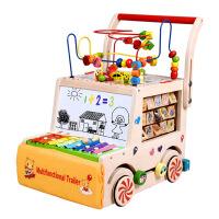 多功能儿童学步车手推车宝宝学步推车小孩助步车7-18个月婴儿玩具