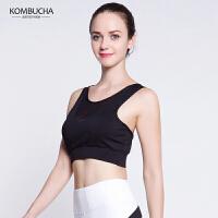 【限时狂欢价】Kombucha瑜伽内衣2018新款女士无钢圈聚拢露背胸衣跑步健身防震运动文胸K0258