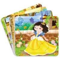 我的套经典童话拼图白雪公主(1-4岁) 北京小红花图书工作室 中国人口出版社 9787510118517 【新华书店,